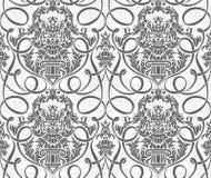 Papel de parede sem emenda floral Fotos de Stock Royalty Free