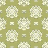 Papel de parede sem emenda floral Imagens de Stock Royalty Free
