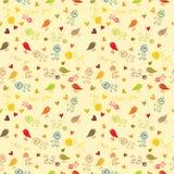 Papel de parede sem emenda floral, teste padrão Fotografia de Stock