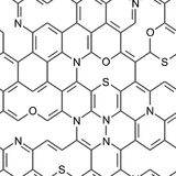 Papel de parede sem emenda químico Foto de Stock Royalty Free