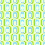 Papel de parede sem emenda verde retro Fotos de Stock