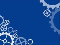 Papel de parede técnico da roda denteada Imagem de Stock Royalty Free