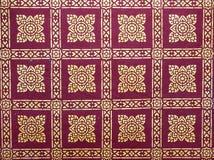 Papel de parede tailandês da arte Fotos de Stock Royalty Free