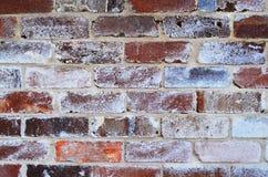 Papel de parede velho do fundo da parede de tijolo fotografia de stock royalty free