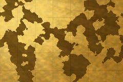 Papel de parede velho do mapa Fotografia de Stock Royalty Free