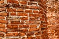 Papel de parede velho do tijolo Fotografia de Stock Royalty Free