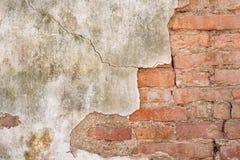 Papel de parede velho do tijolo Fotos de Stock