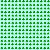 Papel de parede verde do trevo ilustração do vetor