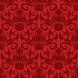 Papel de parede vermelho ilustração do vetor
