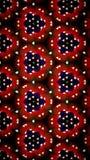 Papel de parede vermelho abstrato do coração Imagens de Stock Royalty Free