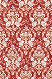 Papel de parede vermelho-bege Imagem de Stock Royalty Free