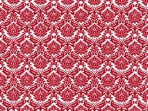 Papel de parede vermelho branco Foto de Stock