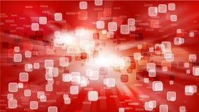 Papel de parede vermelho de HD Foto de Stock