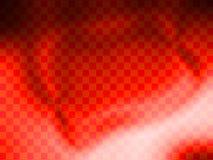 Papel de parede vermelho vibrante do fundo da verificação Fotografia de Stock Royalty Free