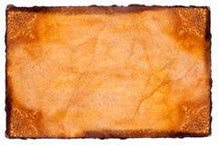 Papel de pergamino Imágenes de archivo libres de regalías