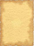 Papel de pergamino de la vendimia Foto de archivo libre de regalías