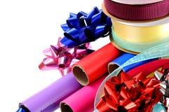 Papel de regalo Foto de archivo libre de regalías