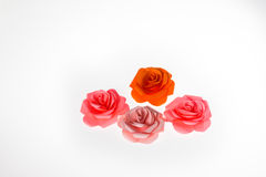 Papel de Rosa Imagem de Stock Royalty Free