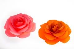 Papel de Rosa Fotos de Stock
