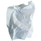 Papel de tecido branco Fotos de Stock Royalty Free