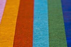 Papel de tecido colorido foto de stock royalty free