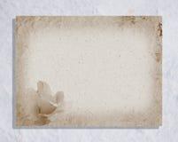 Papel de viejo estilo Foto de archivo libre de regalías