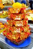 Papel del ídolo chino Foto de archivo libre de regalías