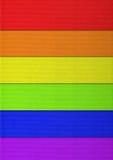Papel del arco iris Imagen de archivo