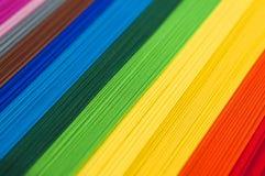 Papel del arco iris Imágenes de archivo libres de regalías