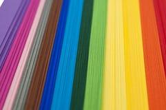 Papel del arco iris Foto de archivo