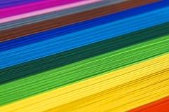 Papel del arco iris Foto de archivo libre de regalías