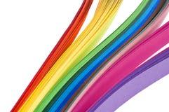 Papel del arco iris Fotos de archivo libres de regalías