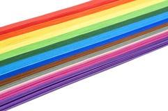 Papel del arco iris Fotos de archivo