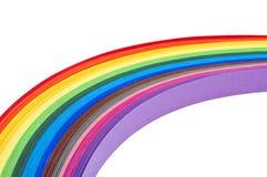 Papel del arco iris Fotografía de archivo libre de regalías