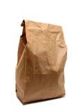 Papel del bolso del almuerzo Imagen de archivo libre de regalías
