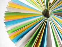 Papel del círculo Imagen de archivo libre de regalías