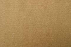 Papel del cartón de Brown Imagen de archivo