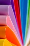 Papel del color Imagen de archivo libre de regalías