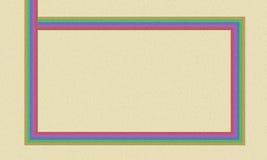 Papel del color Imagen de archivo