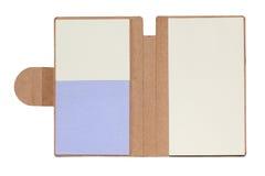 Papel del cuaderno Imagenes de archivo