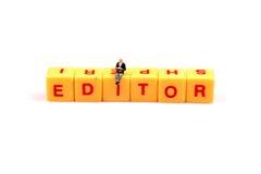 Papel del editor fotos de archivo libres de regalías