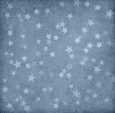 Papel del Grunge adornado con las estrellas Foto de archivo libre de regalías