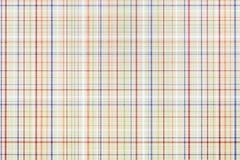 Papel del modelo de la tela escocesa Imágenes de archivo libres de regalías