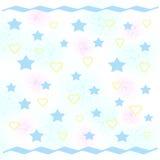 Papel del partido del bebé Imagen de archivo libre de regalías