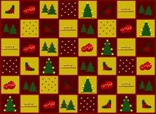 Papel del regalo de la Navidad Foto de archivo libre de regalías