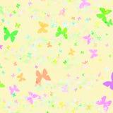 Papel del regalo del modelo de mariposa Foto de archivo libre de regalías