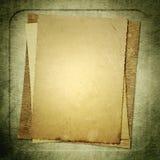 Papel del vintage imágenes de archivo libres de regalías