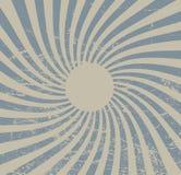 Papel del vintage, fondo retro de los rayos, textura rasguñada Disposición del vector Fotos de archivo libres de regalías