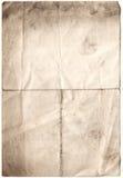 Papel deteriorado antiguidade (inc CLI Fotografia de Stock Royalty Free