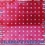 Papel do álbum de recortes da independência Imagens de Stock Royalty Free